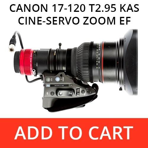 Canon 17-120 T2.95 CN-E Servo Zoom