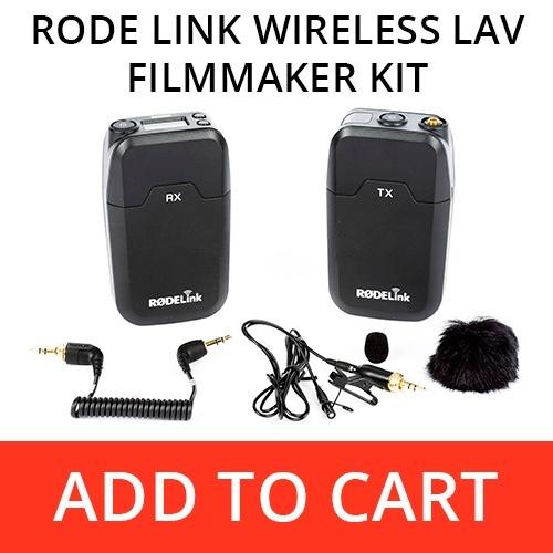 RodeLink Wireless Lav Filmmaker Kit