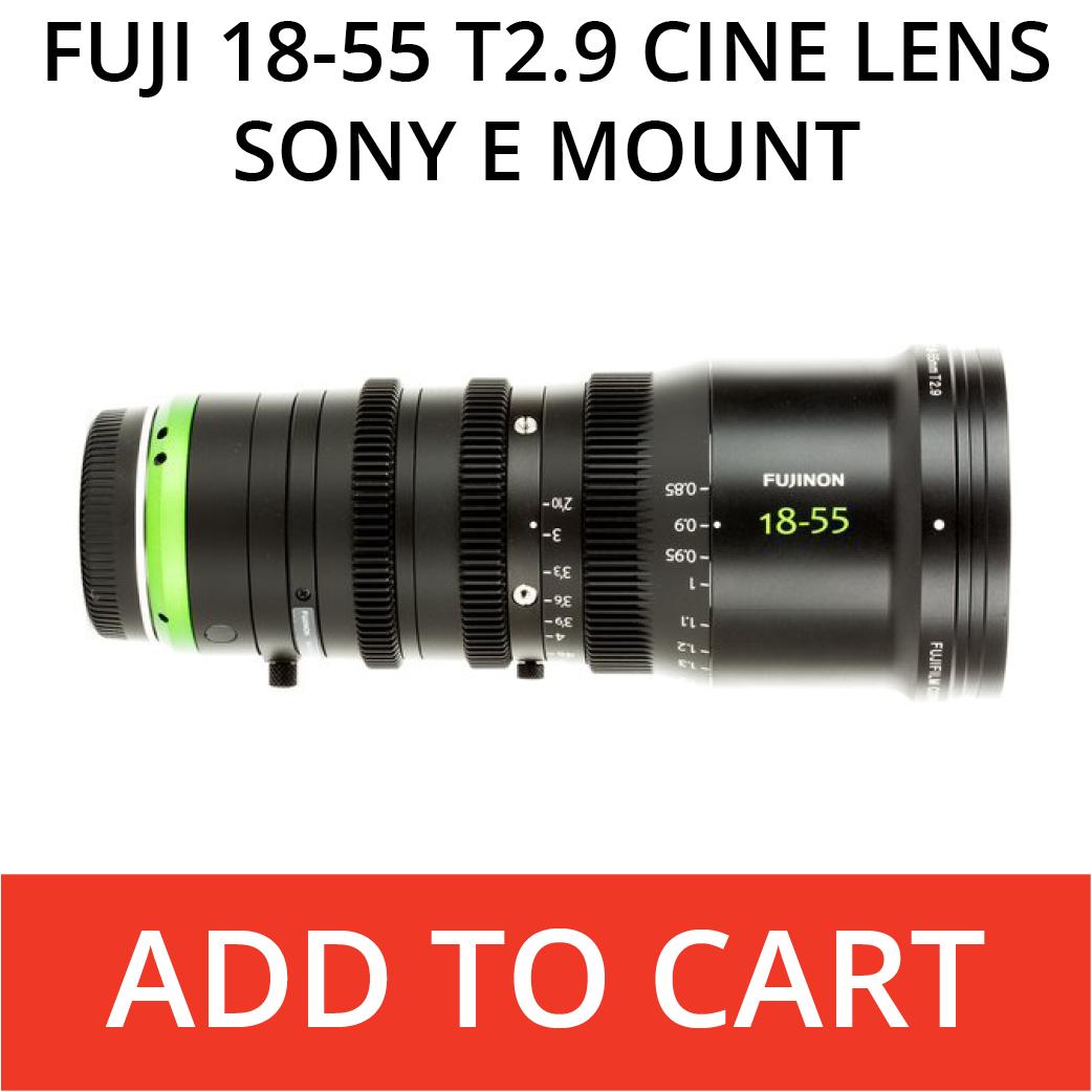 Fuji 18-55 Cine Lens