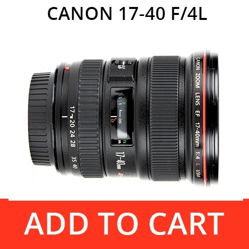 Canon 17-40 f/4L