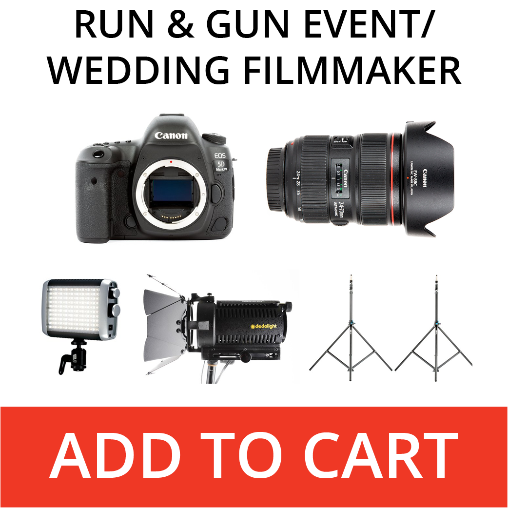 run and gun event filmmaker kit
