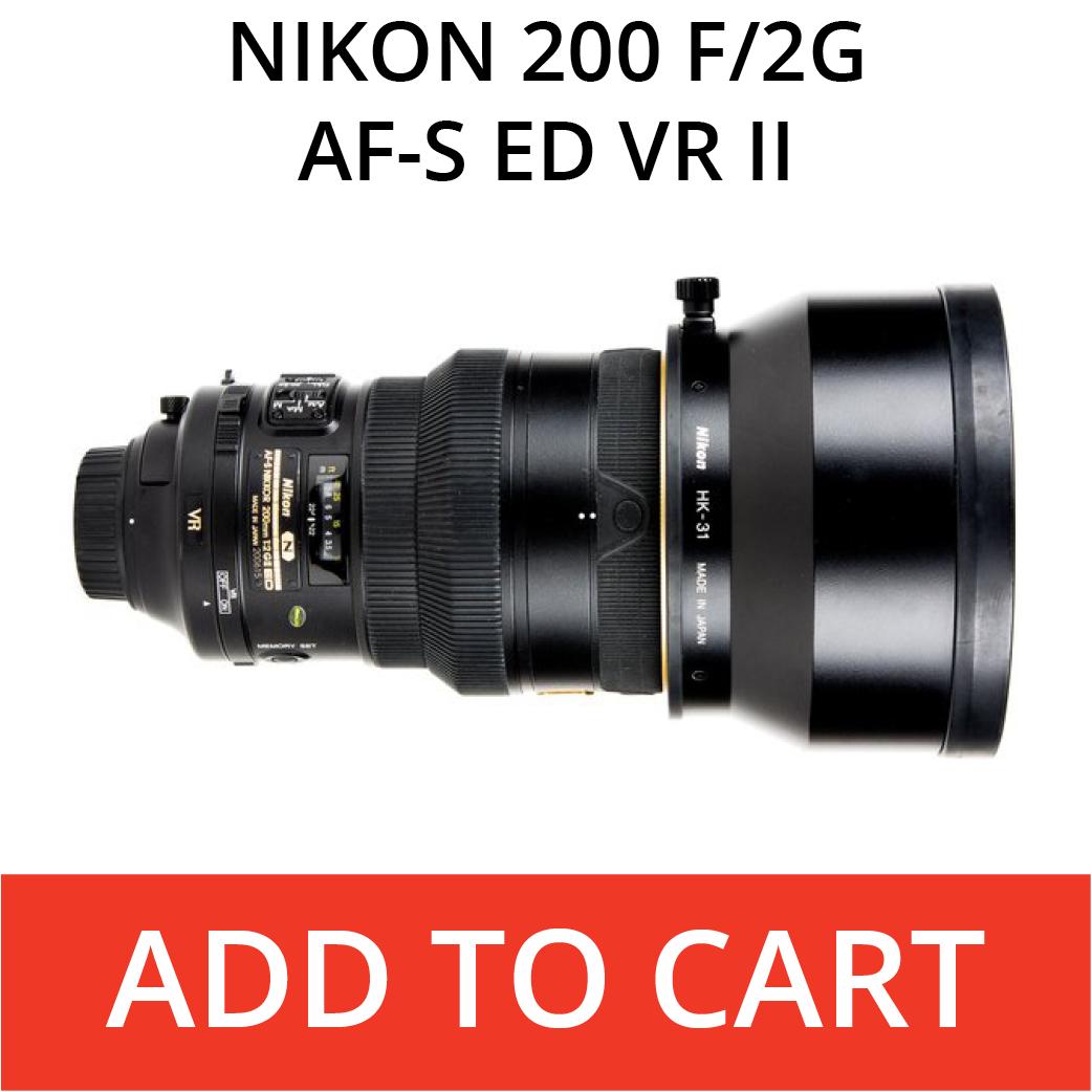 Nikon 200 f/2 VR II