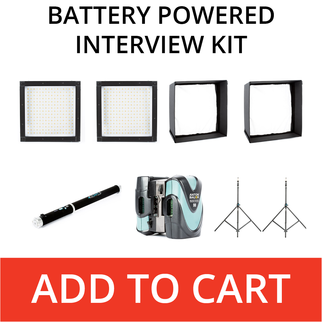 battery powered interview kit