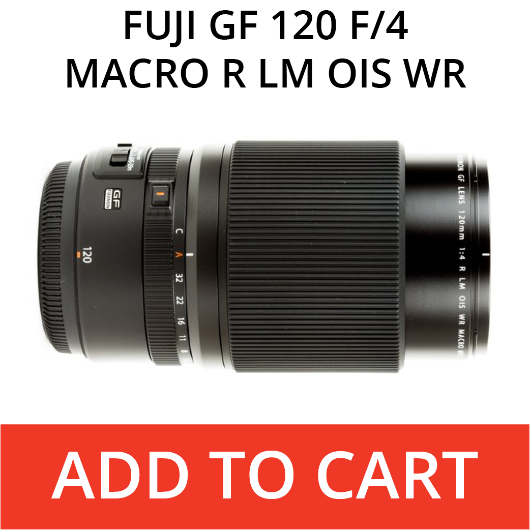 Fuji 120 Macro lens
