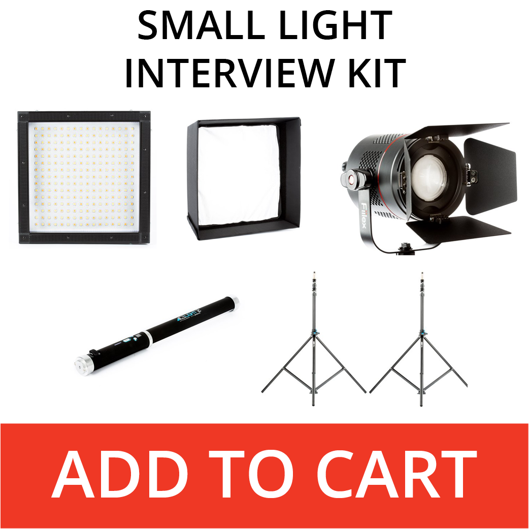 small interview lighting kit