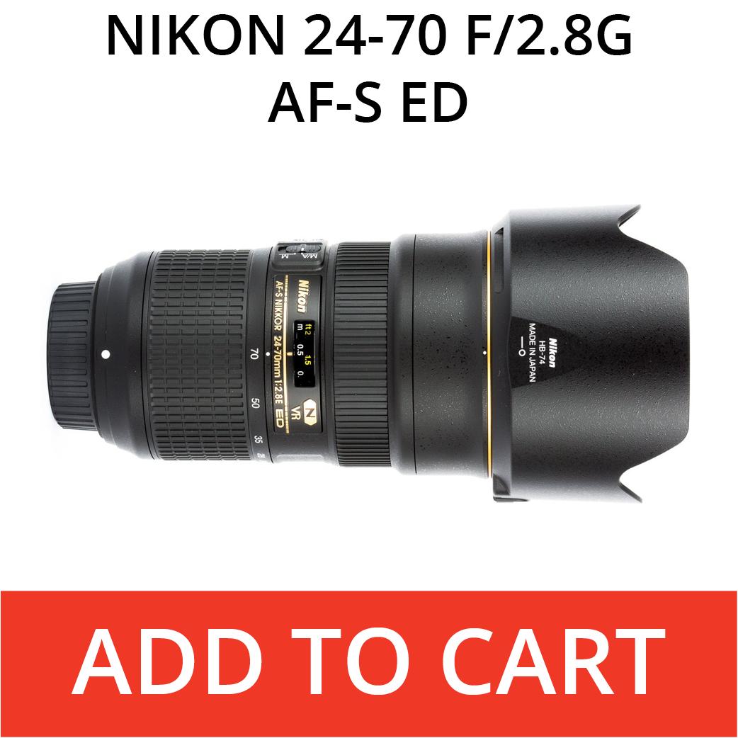 Nikon 24-70 f/2.8 AF-S ED