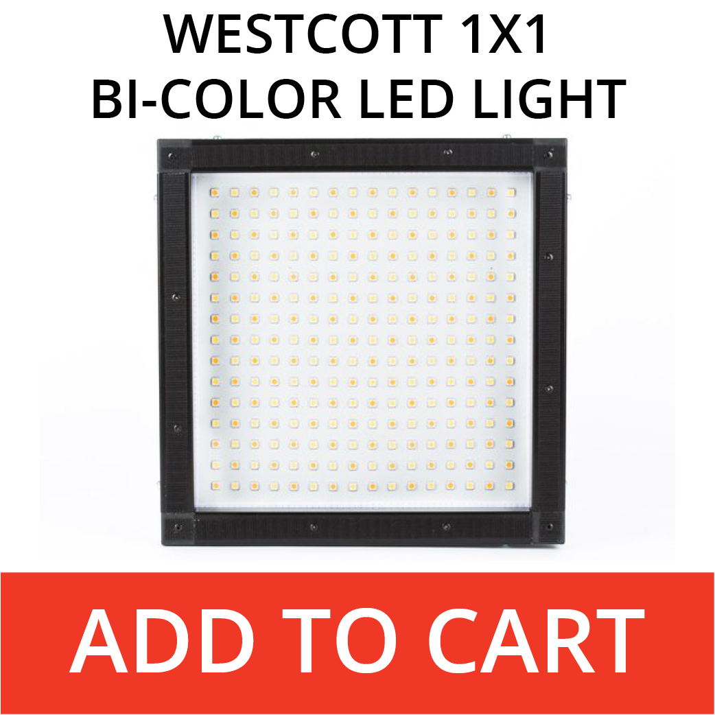 Westcott 1x1 bi-color led light