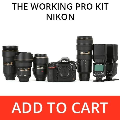 The Working Pro Kit - Nikon