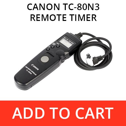 Canon TC-80N3 Remote Timer