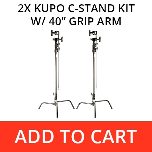 Kupo C-Stand Kit with 40