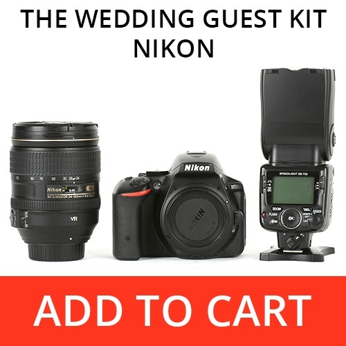 The Wedding Guest Kit - Nikon
