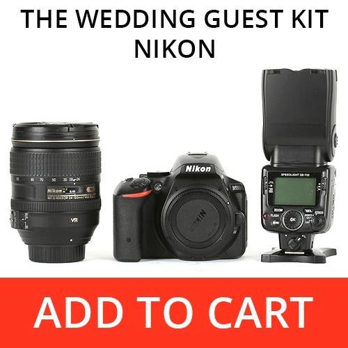 The Wedding Guest Kit - Nikon