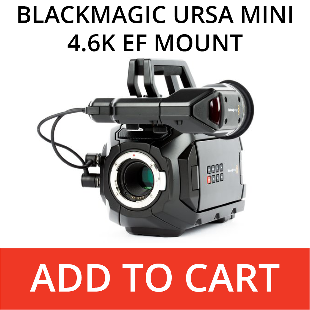 BlackMagic Ursa Mini 4.6K EF mount