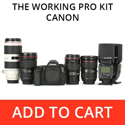 The Working Pro Kit - Canon
