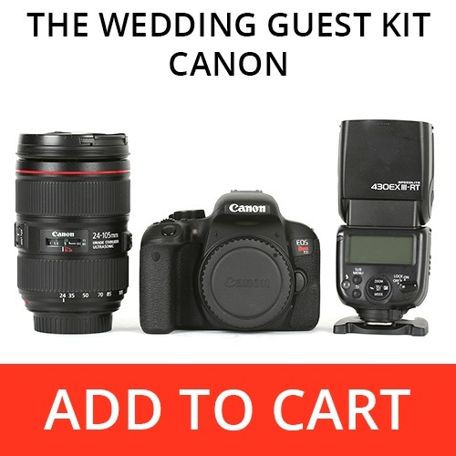 The Wedding Guest Kit - Canon