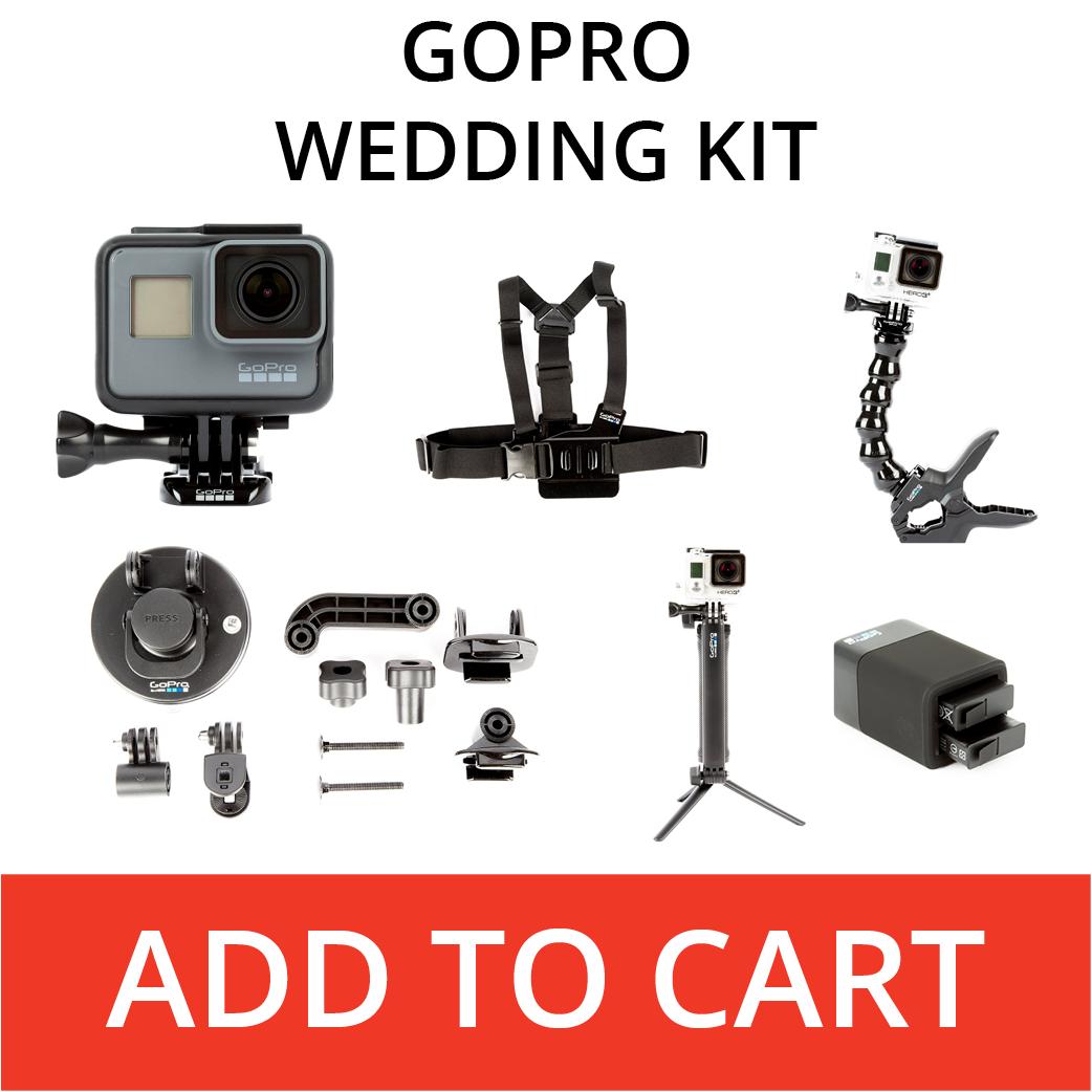 Rent A GoPro Wedding Kit