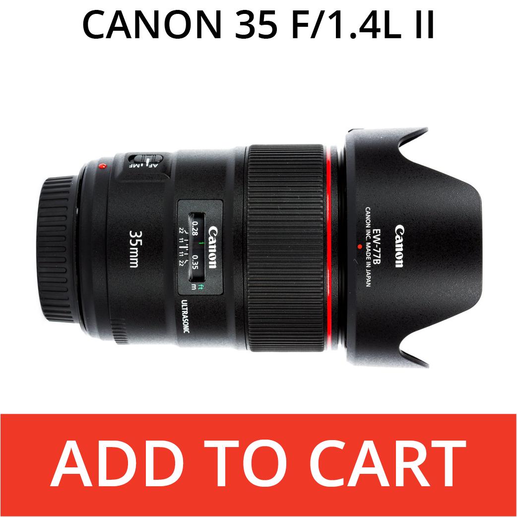 Canon 35 f/1.4L II