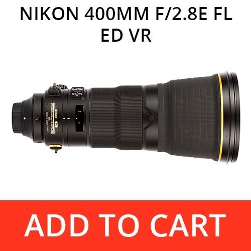 Nikon 400 f/2.8E FL ED VR