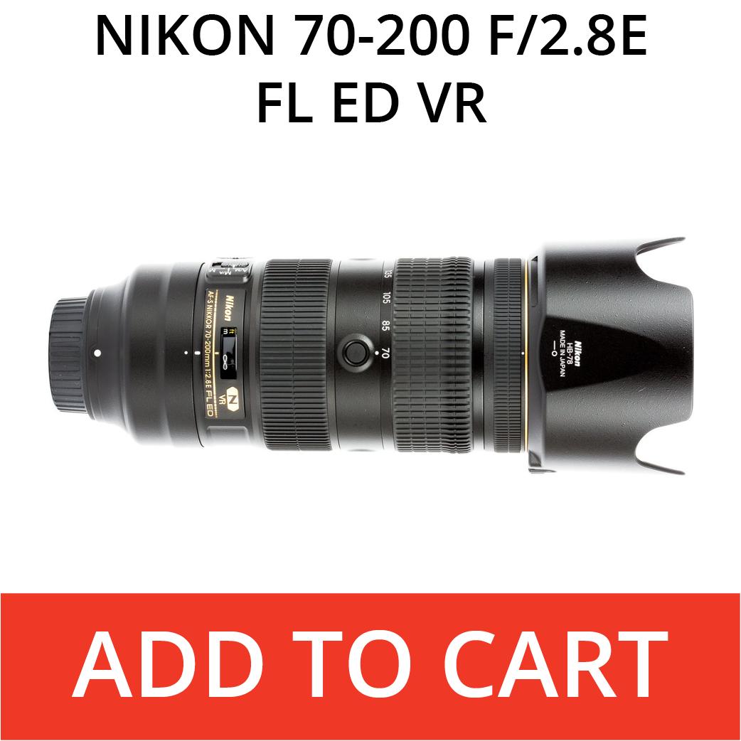 Nikon 70-200f/2.8E FL ED VR