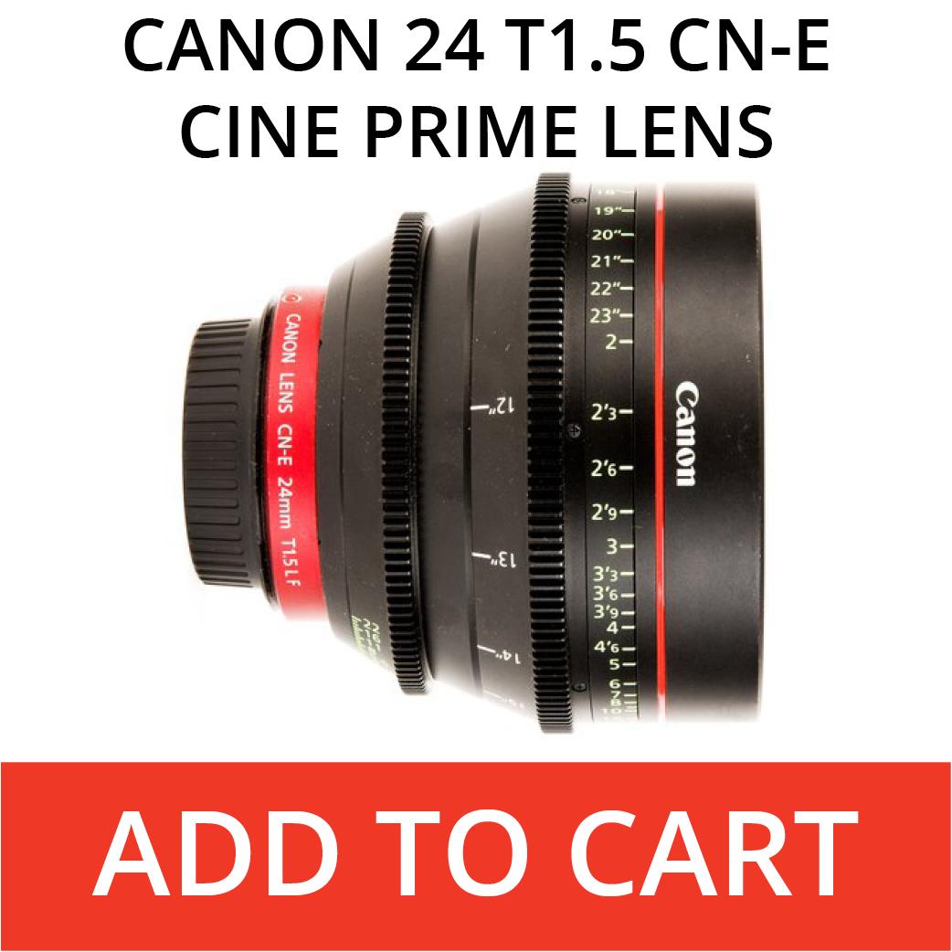 Canon 24 CN-E Cine Prime