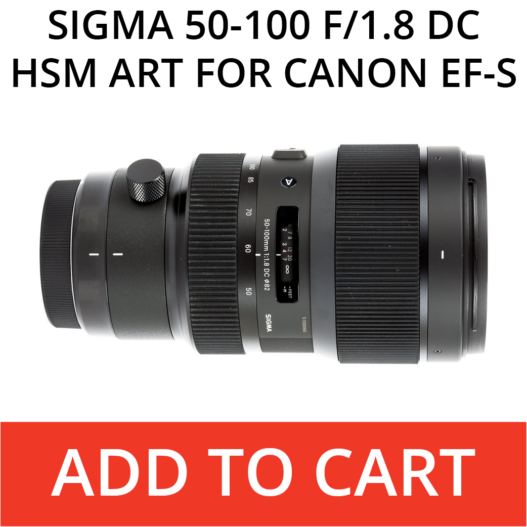 Sigma Art 50-100 for Canon