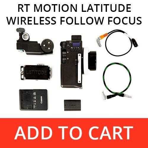 RT Motion Latitude Wireless Follow Focus