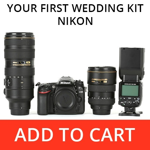 Your First Wedding Kit - Nikon