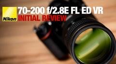 Nikon 70-200 f/2.8 E FL ED VR