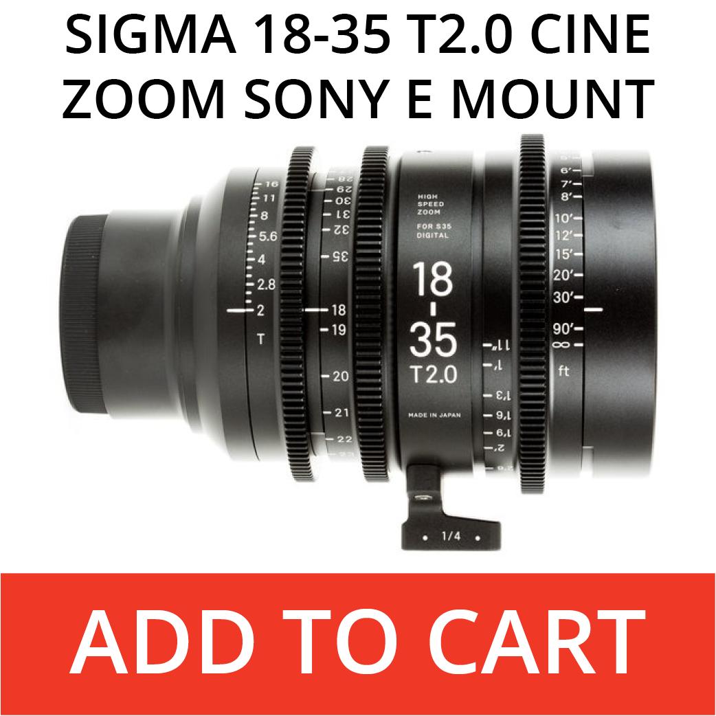 Sigma 18-35 E Mount