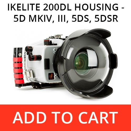 Ikelite 200DL Underwater Housing for Canon 5D MKIV, 5D MKIII, 5DS, 5DS R