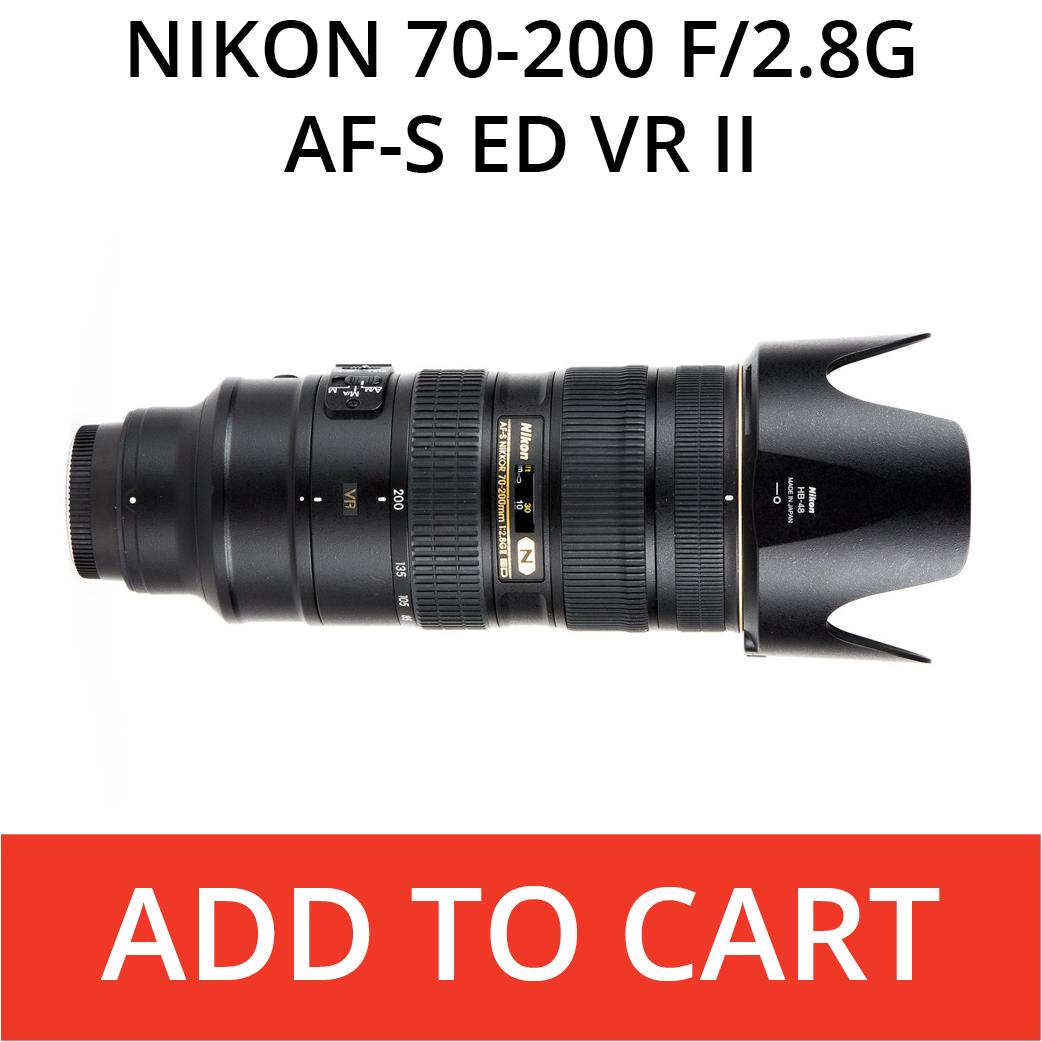 Nikon 70-200f/2.8G AF-S EF VR II