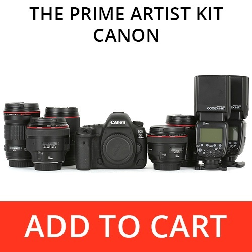The Prime Artist Kit - Canon