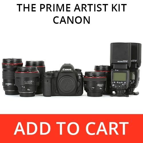 The Prime Artist Kit - Canon