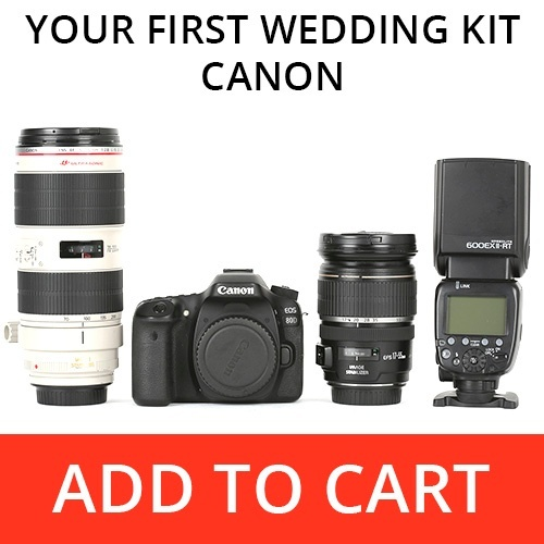 Your First Wedding Kit - Canon