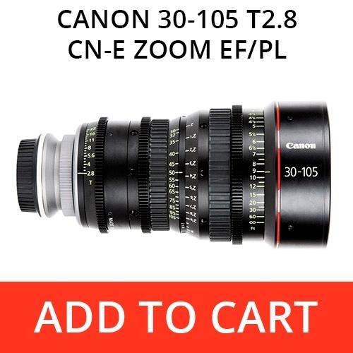 Canon 30-105 T2.8 CN-E Zoom