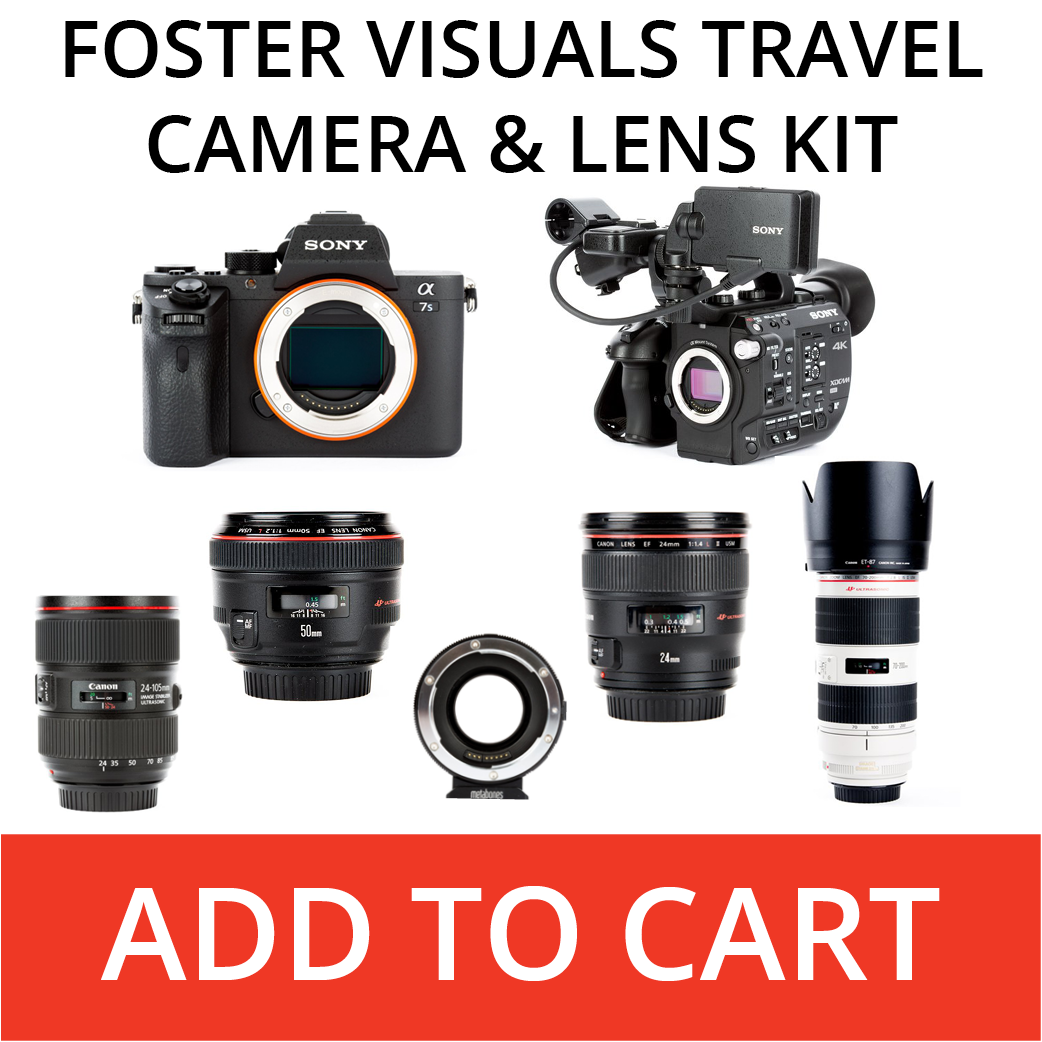 Foster Visuals travel Camera and lens kit