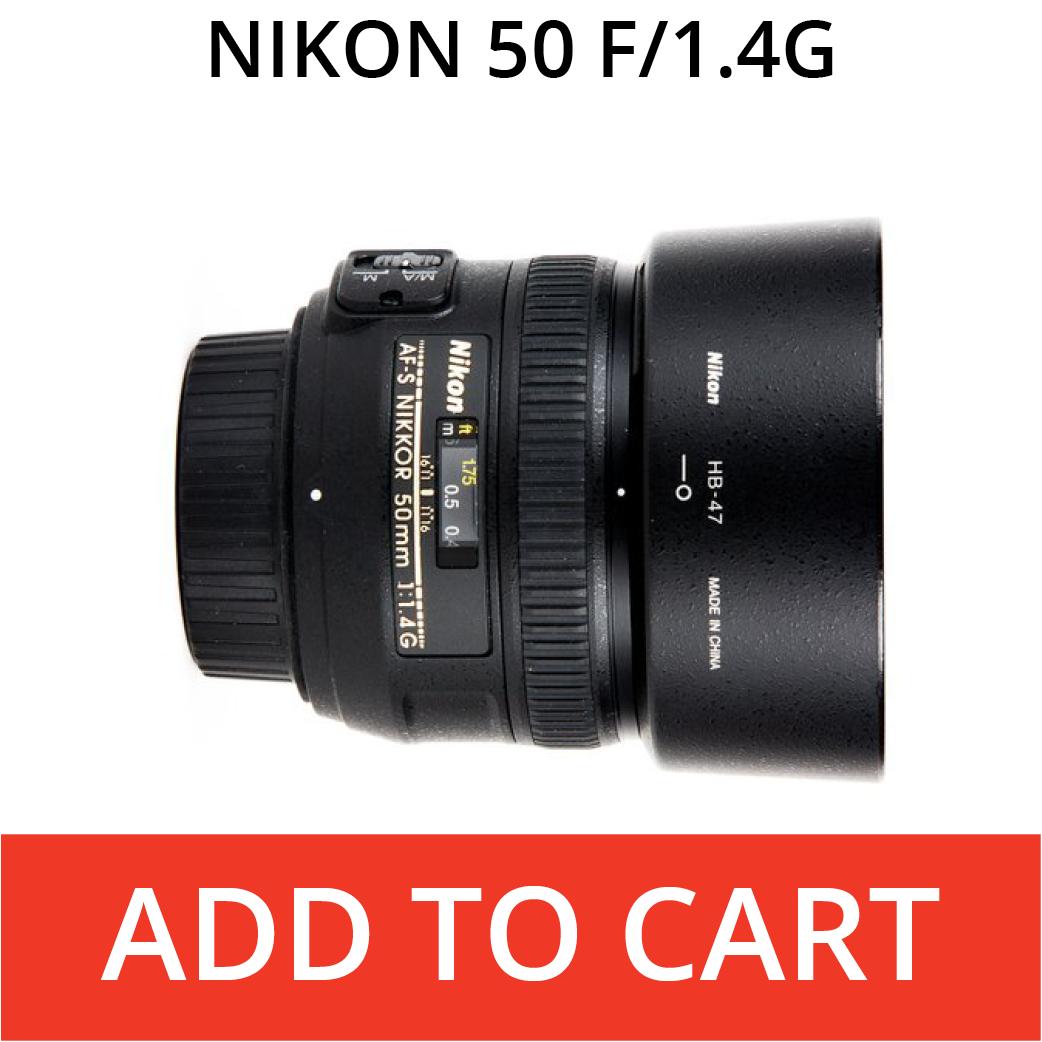Nikon 50 f/1.4