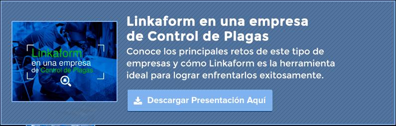 Slideshare Linkaform en una empresa de control de plagas