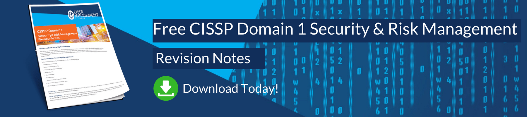 Free CISSP Domian 1 Security and Risk Management Review Notes
