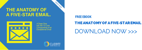 "Download our free eBook ""The Anatomy of a 5-Star Email"" and learn how to improve your email marketing."