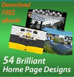 54 brilliant home page designs