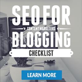 The SEO For Blogging Checklist