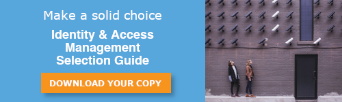 Download your copy of the Identity & Access Management Selection Guide