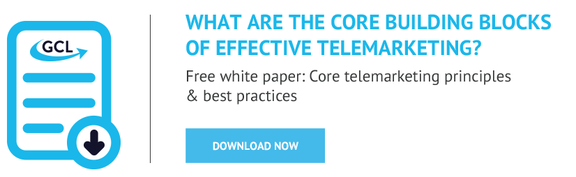 Core telemarketing principles