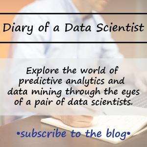 blog on data mining and predictive analytics, as explored by a pair of data scientist
