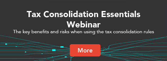Tax Consolidation Webinar