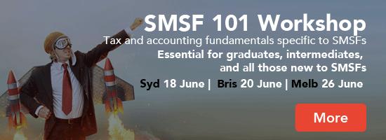SMSF 101 Workshop - essential grad training