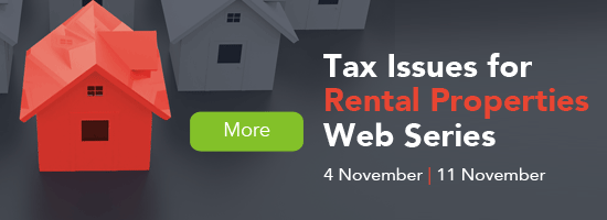 Tax Issues for Rental Property Web Series - Get it right