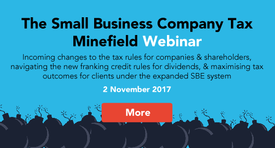 The Small Business Company Tax Minefield