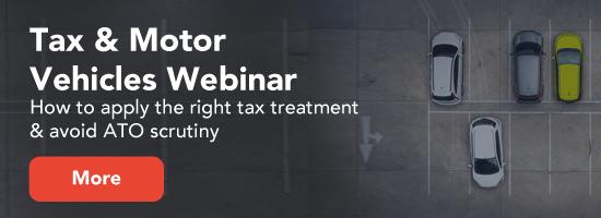 Tax & motor vehicles - the right tax treatment